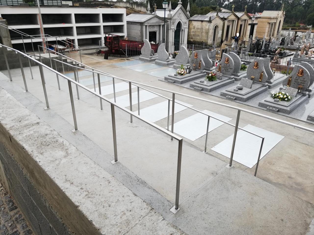 Remodelação do Cemitério de Vila Cova / Acesso Alameda do Passal
